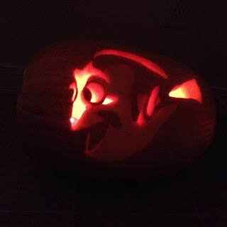 pixar pumpkin carving