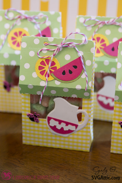 Treat bag with lemon peppermint Trendy Twine