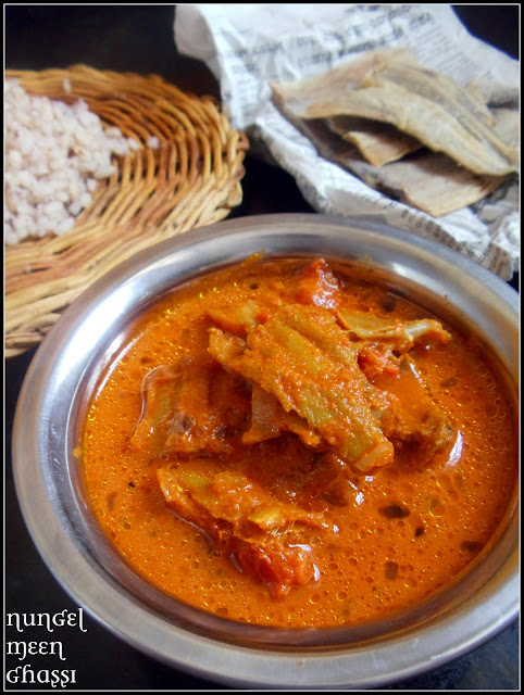 Nungel Meen Ghassi - Dry Fish Curry