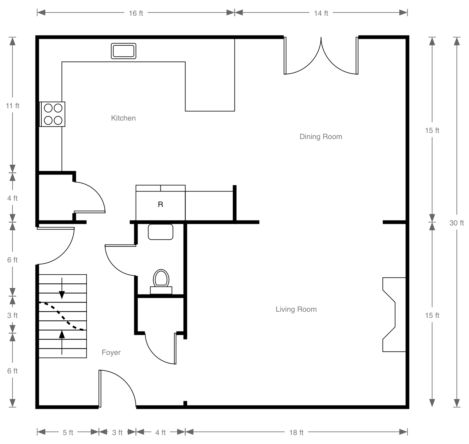 Kids math teacher math activities with walls for Create floor plans online for free