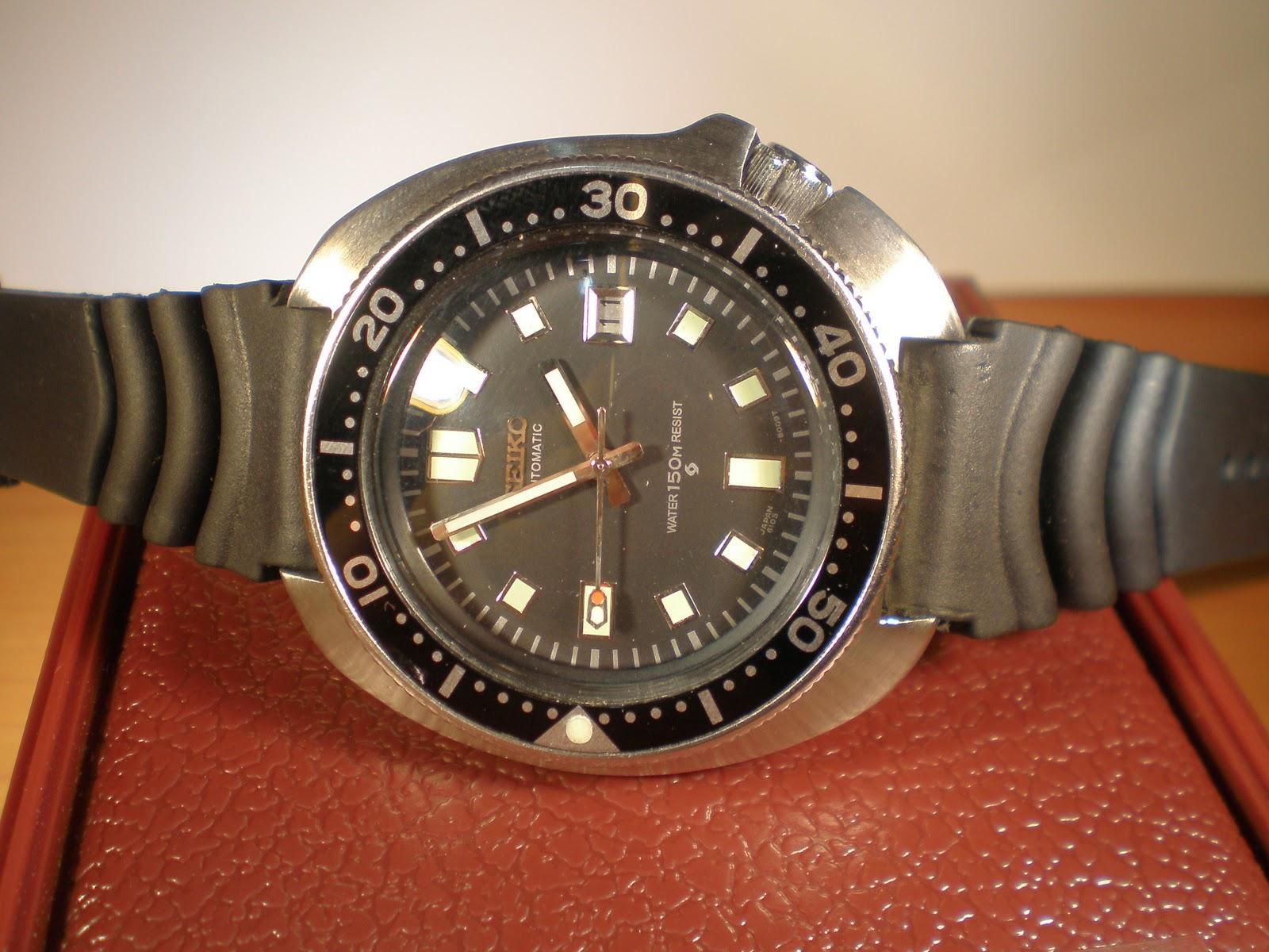 watchopenia: Seiko diver 6105-8009