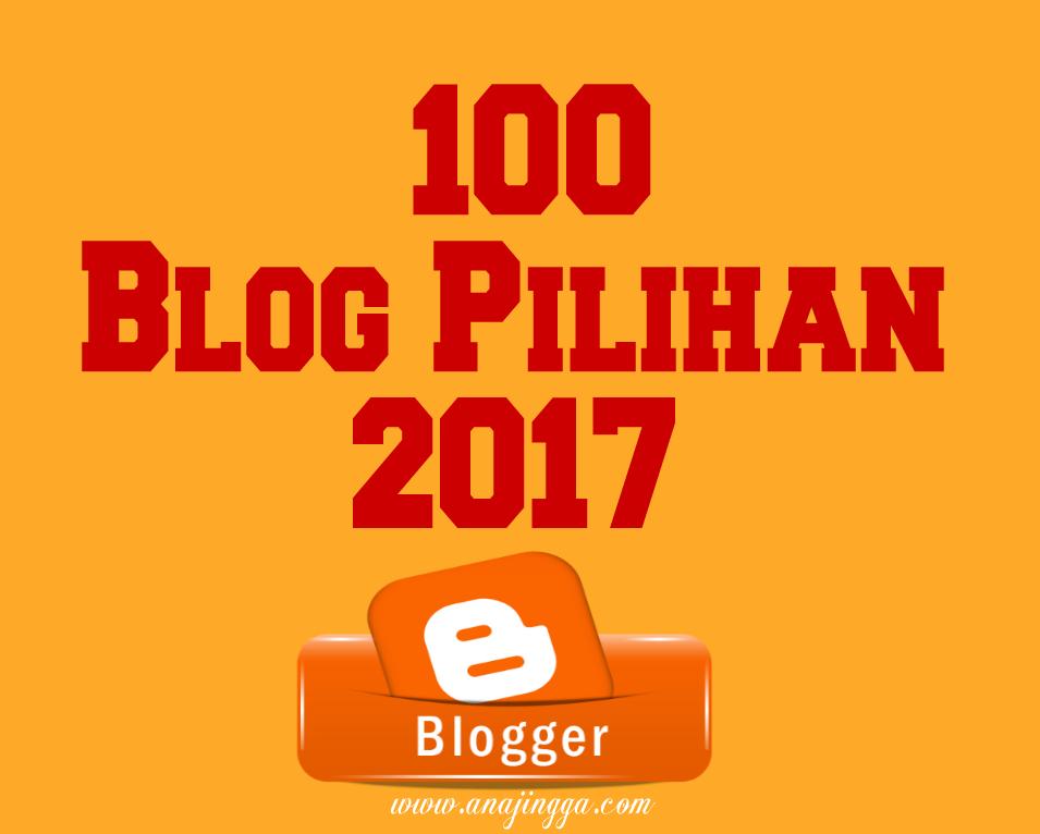 100 Blog Pilihan 2017