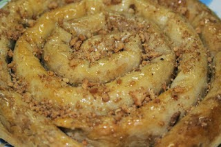 طريقة تحضير المحنشة المغربية باللوز من شهيوات رمضان