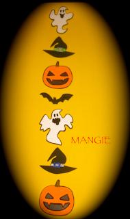 Guirnalda vertical Halloween
