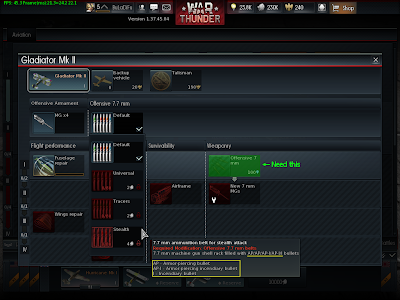 War Thunder - Machine Gun Ammo Stealth
