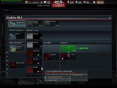 War Thunder - Machine Gun Ammo Stealth