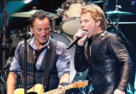 Muzik royalti Rock NYC dalam manfaatkan konsert Sandy