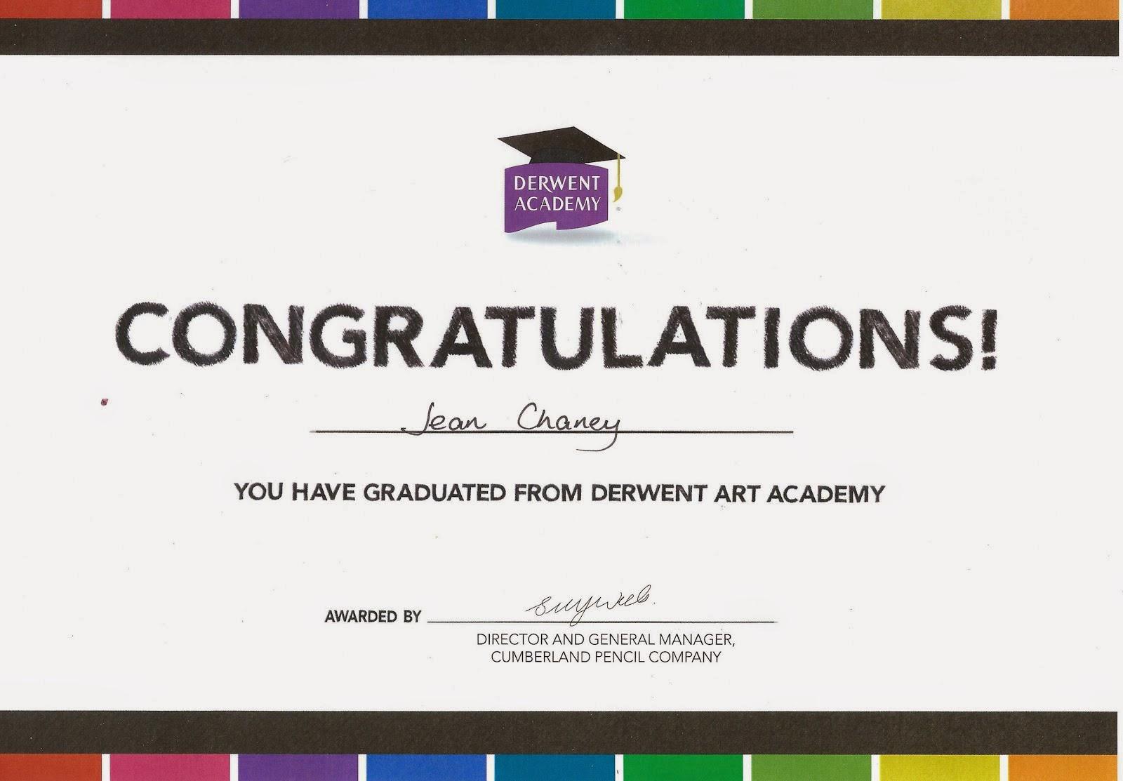 Derwent Academy Graduate