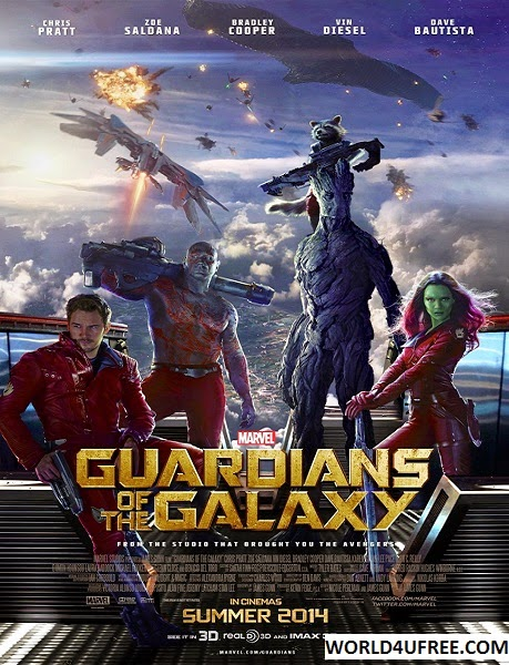 Guardians of the Galaxy 2014 720p HDCAM 800MB