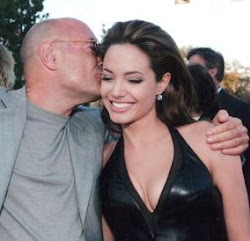 Arnon Milchan and Angelina Jolie