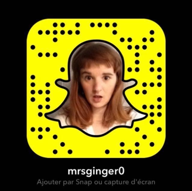 Et sur snapchat aussi !