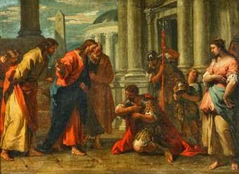 Pilda vindecarii slugii sutasului
