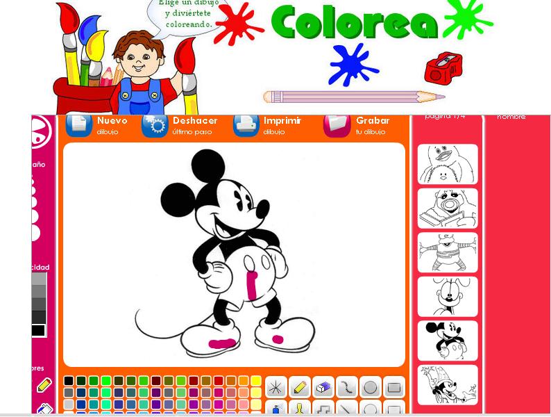 http://www.caxigalines.net/Colorear/pizarra-magica-disney.html