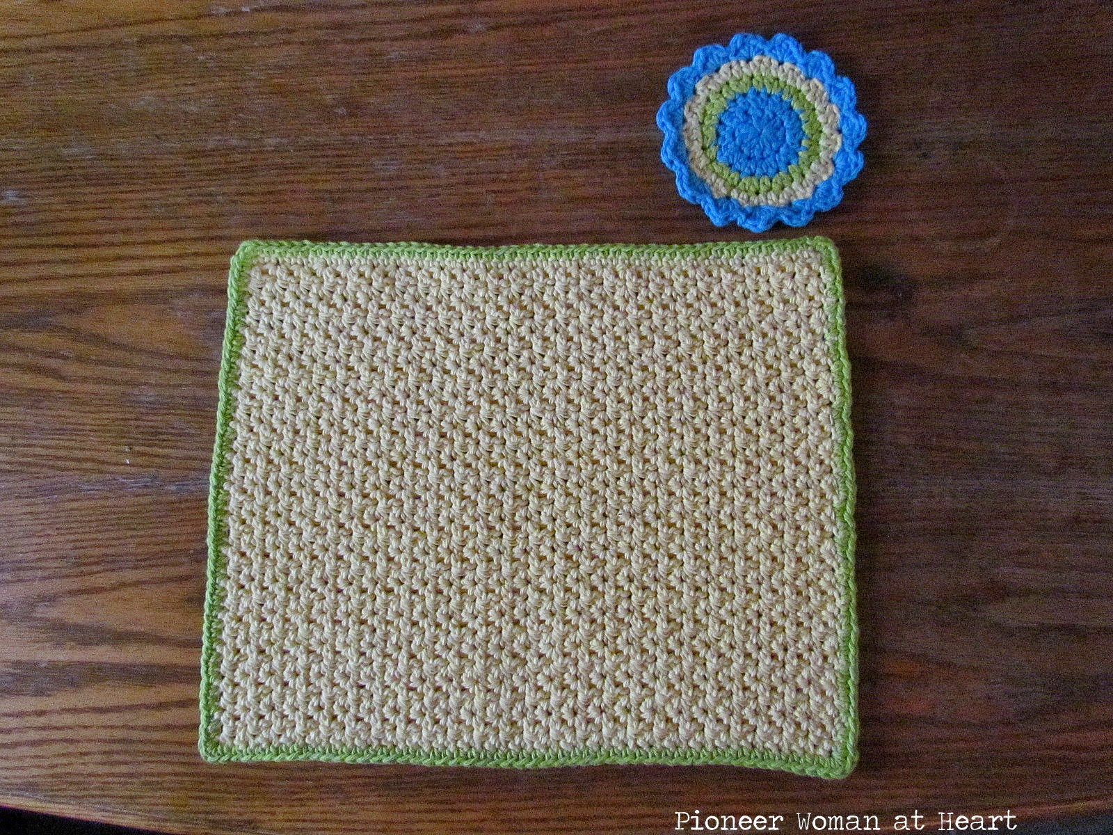 Crocheted Placemats And Chair Cushions Vultures Tidbits