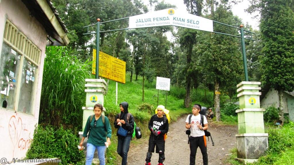 Gapura pendakian via Selo, Boyolali