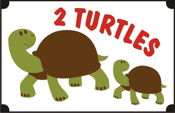 two-turtles-coloring-pages
