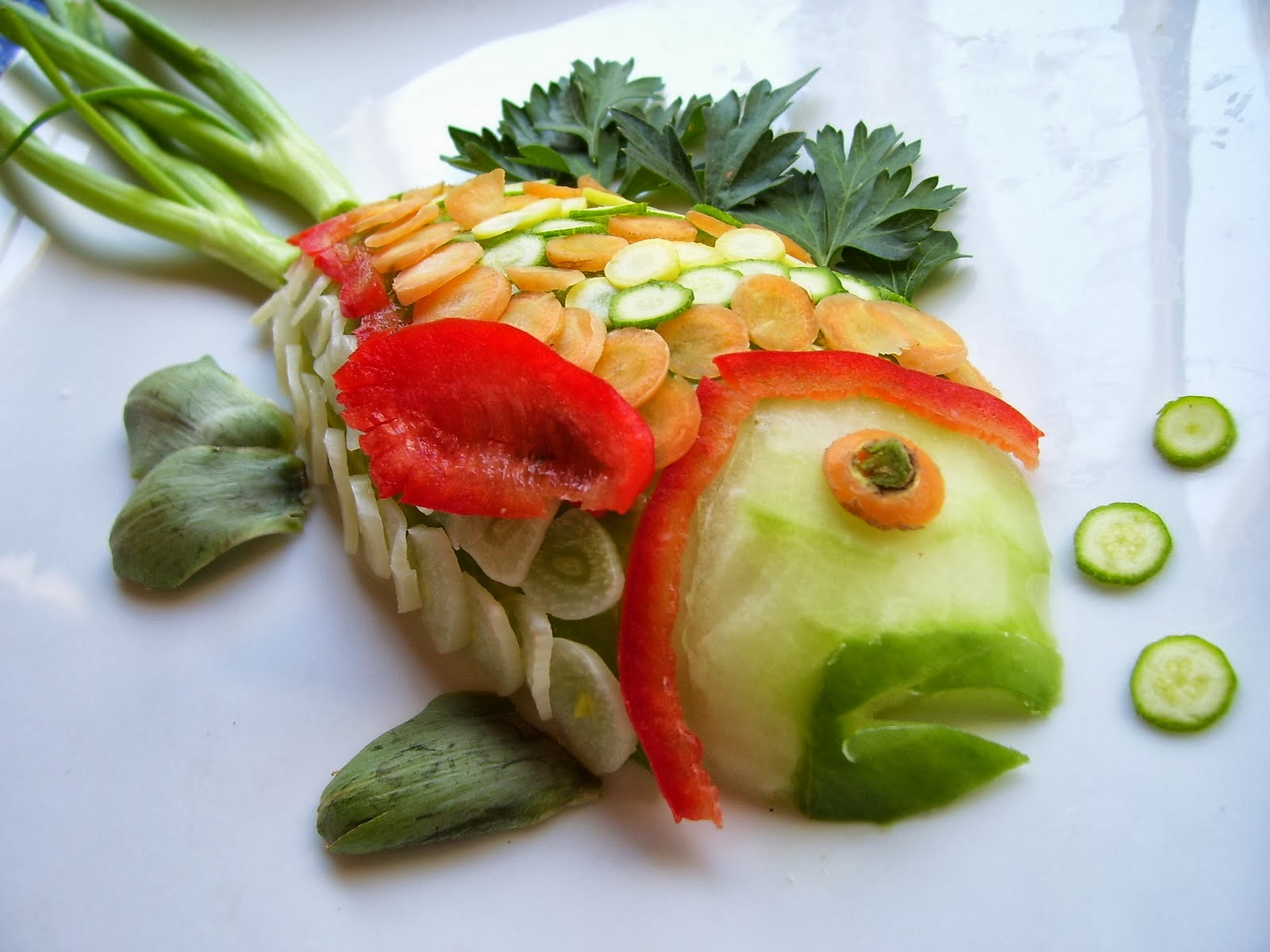 Pez de Vegetales