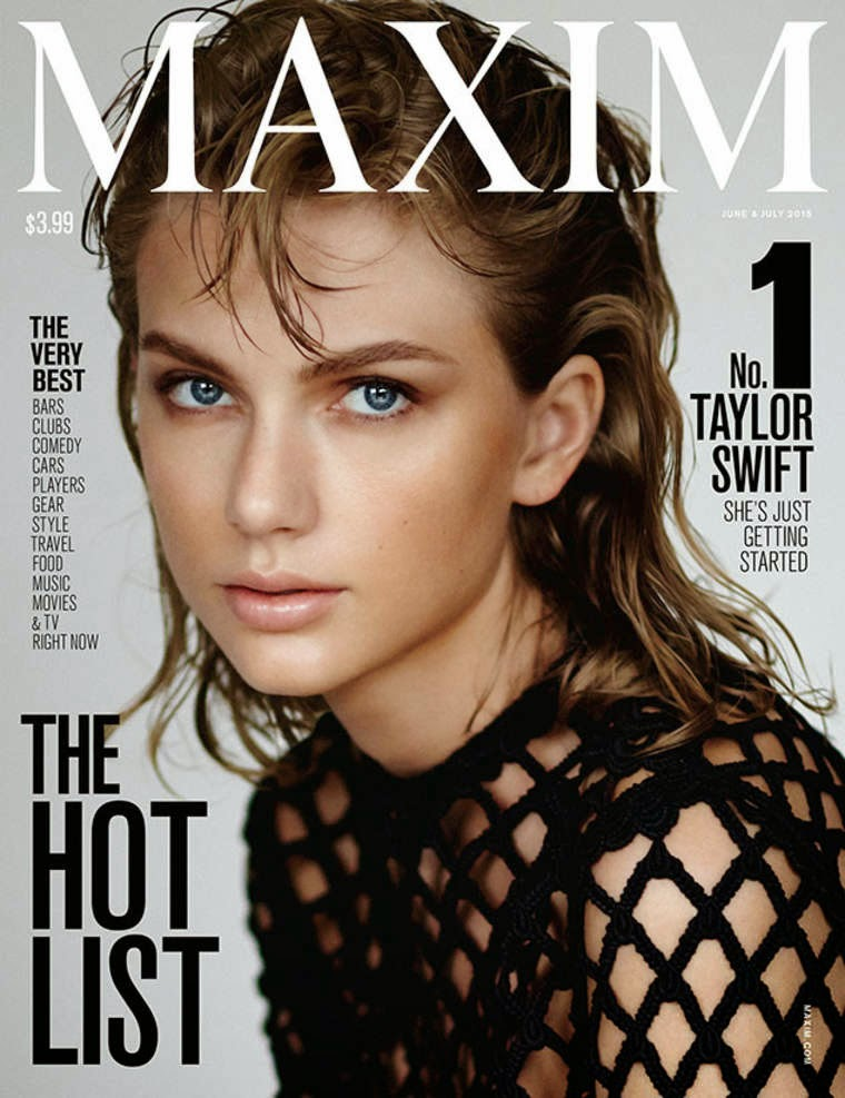 Taylor Swift is #1 on Maxim's Hot 100 List 2015