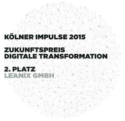 LeanIX als zukunftsweisendes Unternehmen im Bereich Digitale Transformation ausgezeichnet
