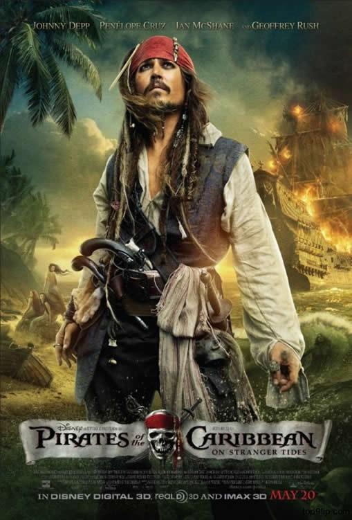 Pirates of the Caribbean: On Stranger Tides Movie Poster