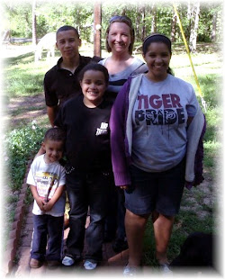 My daughter Kathy and her children