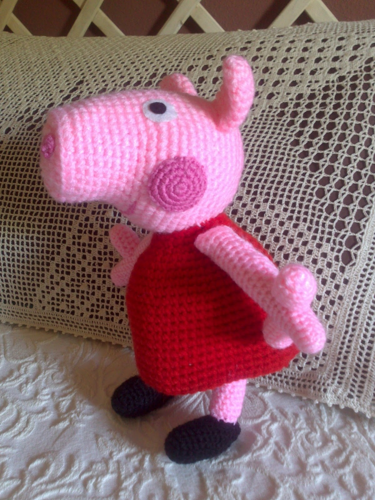 Lambie Amigurumi Patron Gratis : tallerdemao: PEPPA PIG