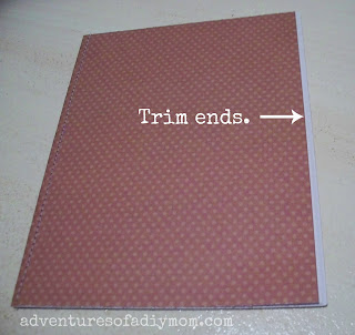 DIY Thankful Journal