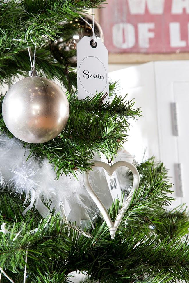 Como decorar un árbol de navidad de estilo nórdico! - Boho Deco Chic