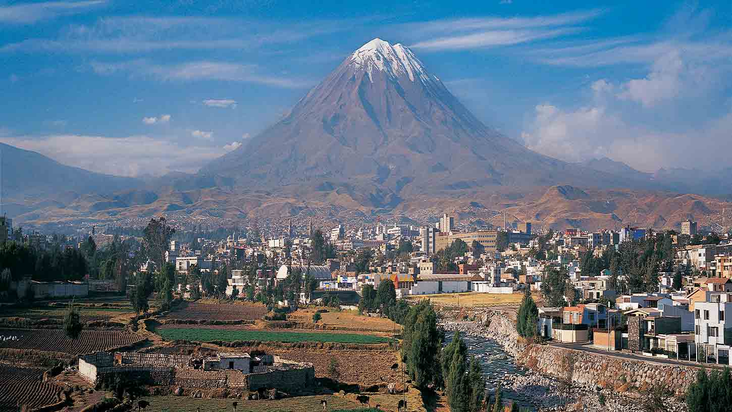 View of Arequipa, Peru