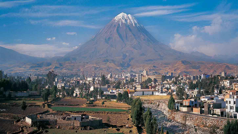 View of Arequipa, Peru