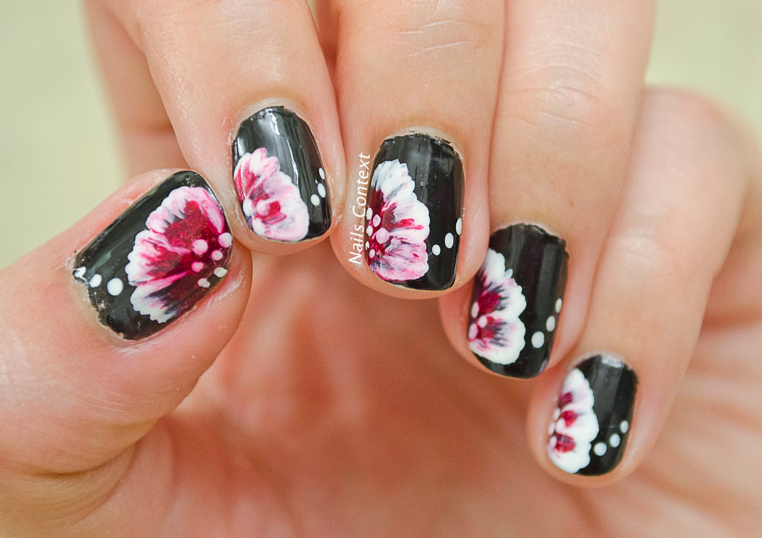Nails Context One Stroke Nail Art