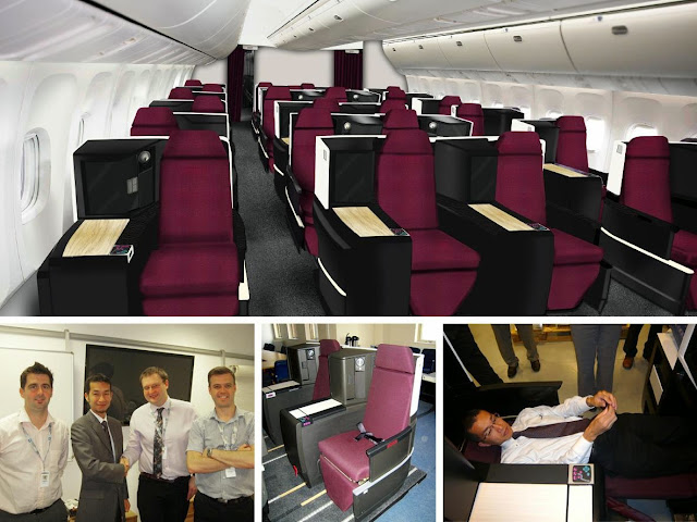 JAL SKY SUITE II development process.
