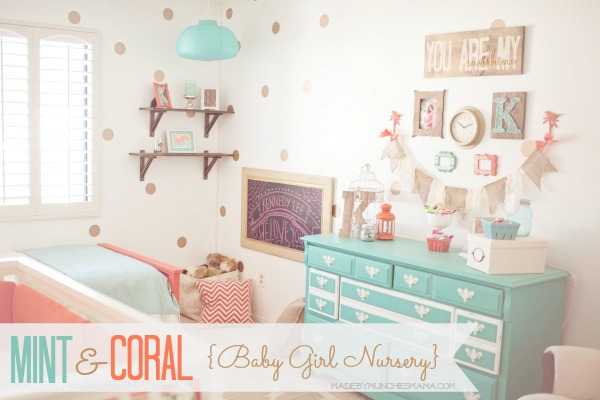 Mint and coral nursery elevate everyday