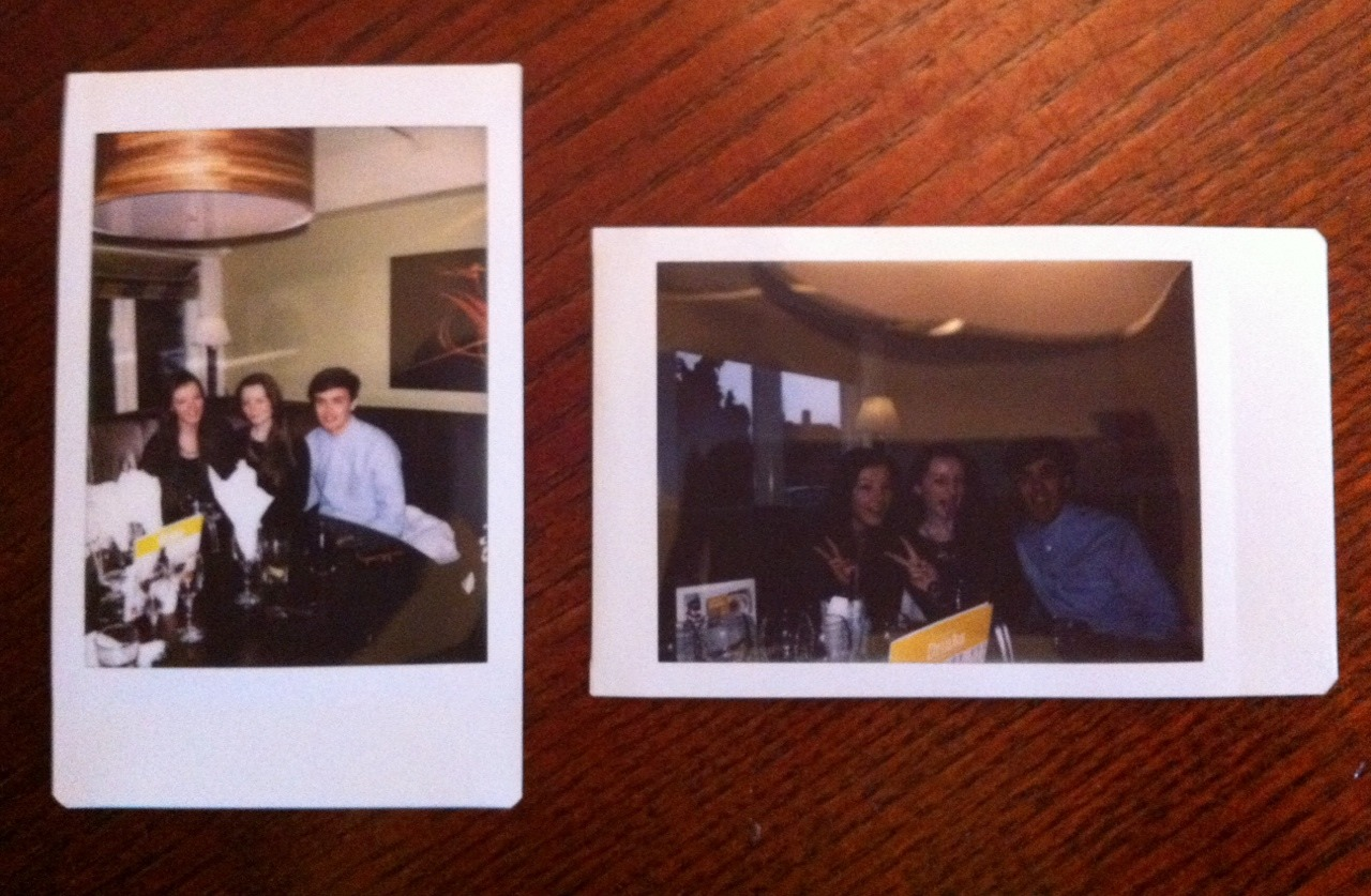 fun polaroids friends