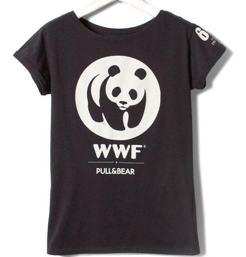 camisetas solidarias WWF la Hora del Planeta