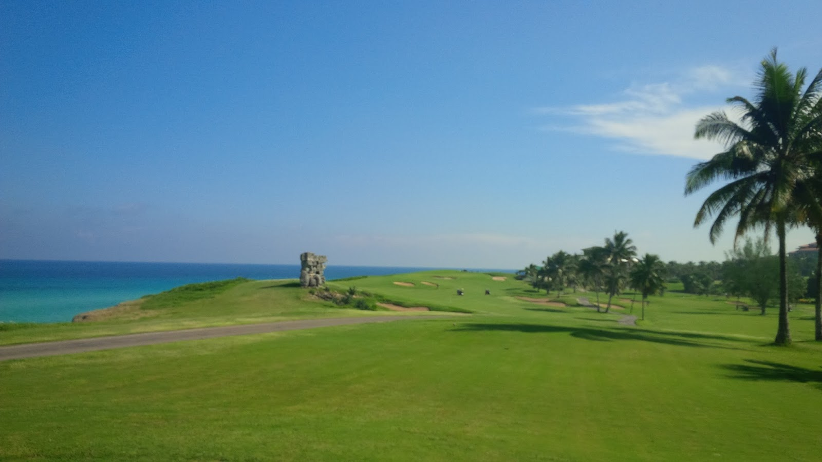 View of 18th Hole