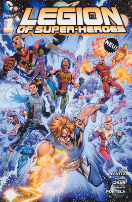 DC Comics Legion Superheroes 2012