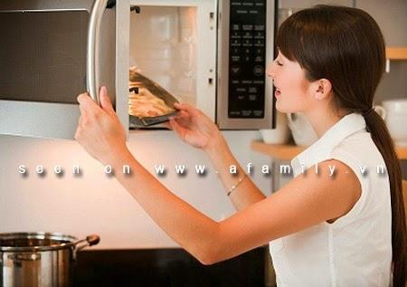 Bạn hãy tìm hiều mẹo hay với lò vi sóng và tủ lạnh