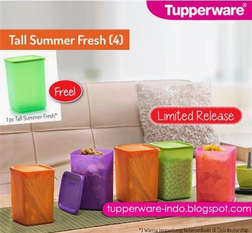 Tupperware Tall Summer Fresh (4)