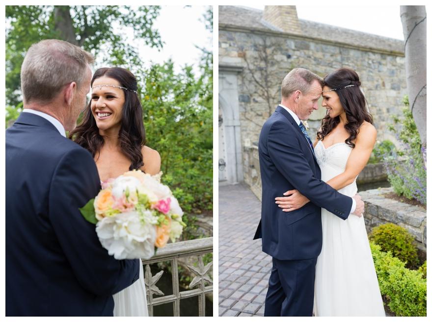 Summer Garden Wedding with a Bird Theme & Jenny Packham Dress