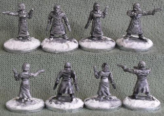 Rebel Miniatures Earth Force Gun Clerics