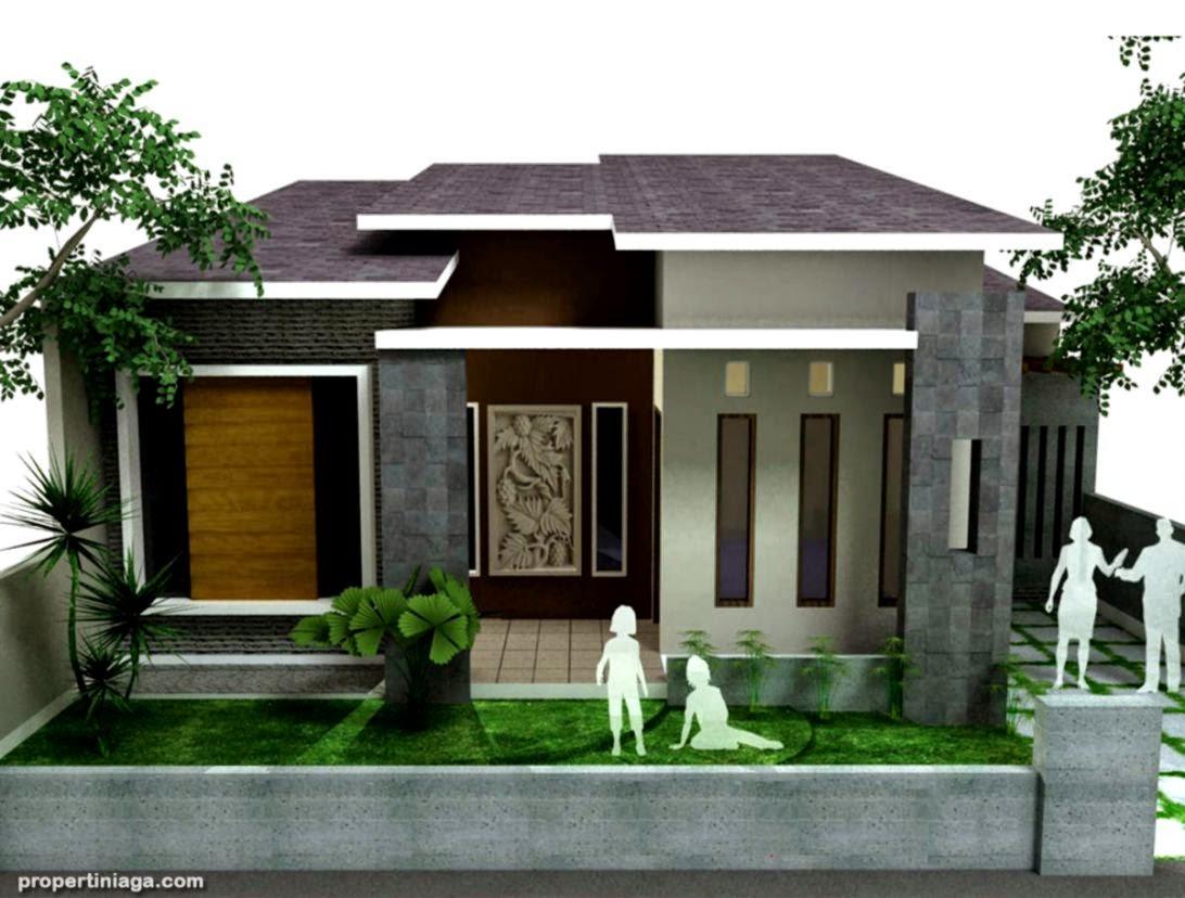 desain rumah modern 1 tingkat  Rumah Desain Minimalis