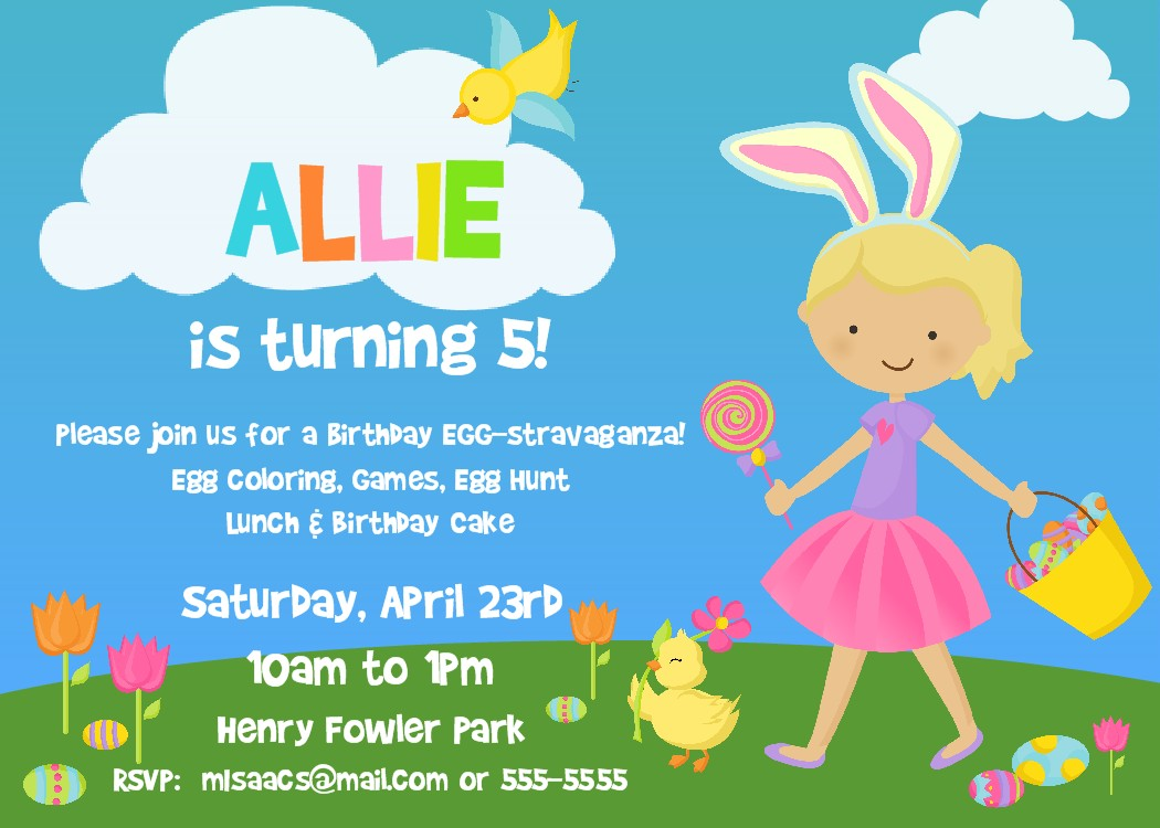 Easter Party Invitations was very inspiring ideas you may choose for invitation ideas