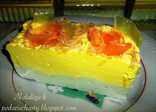 мыльный тортик с розами