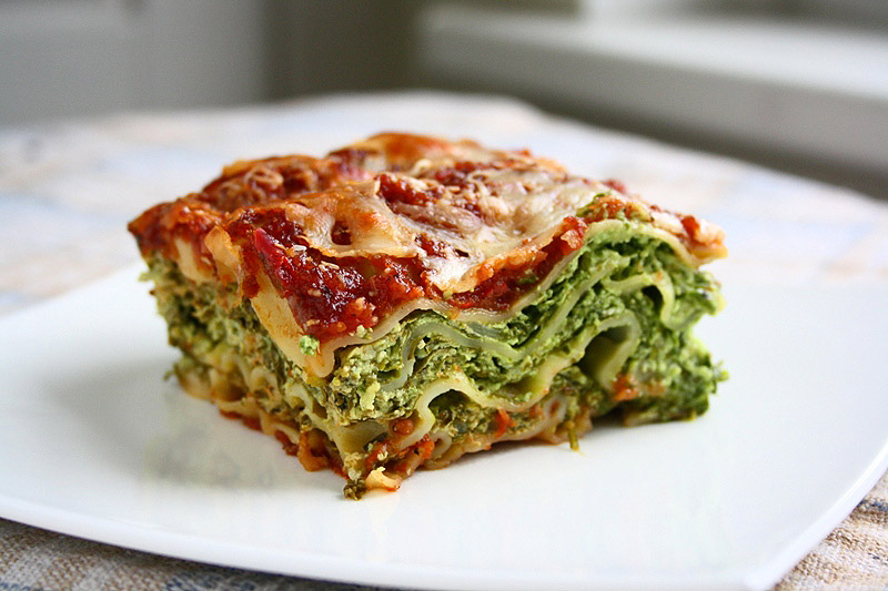 collecting memories: Spinach & Ricotta Lasagna