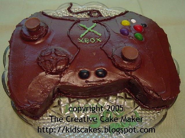 The Creative Cake Maker XBOX Controller
