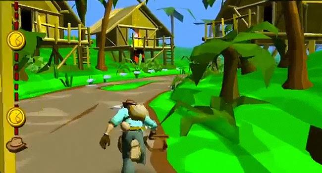 Nueva versión del clásico juego Pitfall