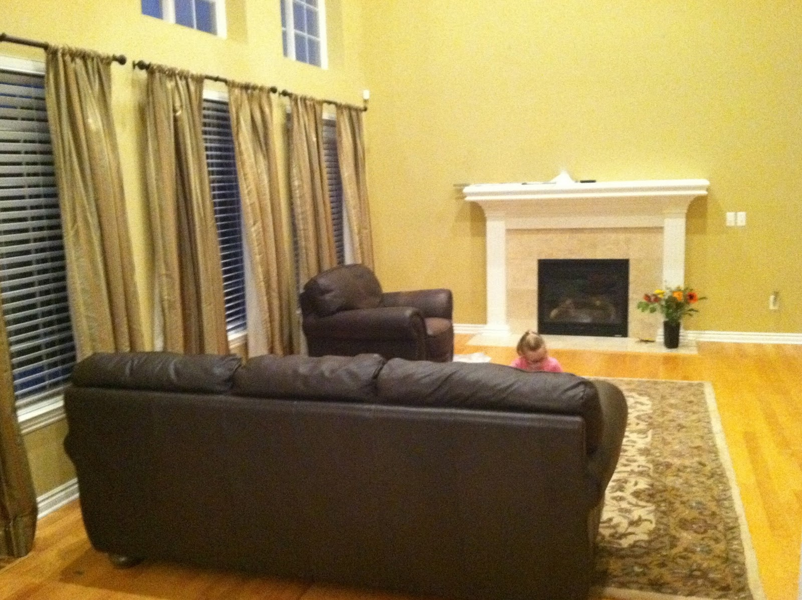 The Yellow Cape Cod: Client Family Room Makeover
