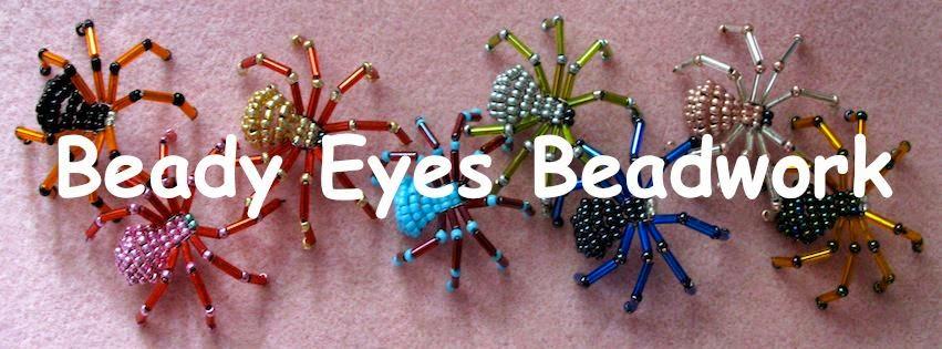 Beady eyes beadwork