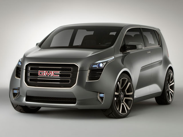 Car Overview: 2013 GMC Acadia